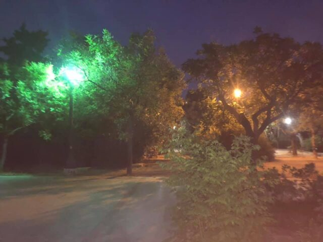 Αισθητική στα φώτα στο Πάρκο μας